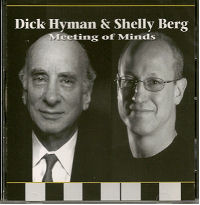CD Cover - Meeting of Minds, Dick Hyman & Shelly Berg