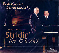 CD Cover - Stridin' the Classics