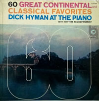 LP Cover - 60 Great Continental and Classical Favorites