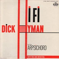 LP Cover - Hyman & Harpsichord in HiFi