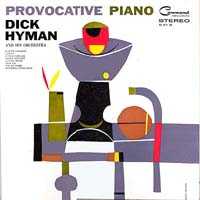 LP Cover - Provocative Piano - Dick Hyman