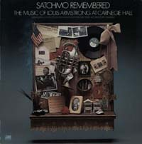 LP Cover - Satchmo Remembered