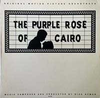LP Cover - The Purple Rose of Cairo